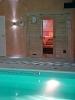 Sauna im Poolbereich